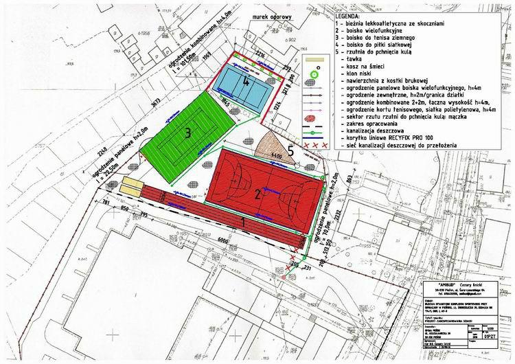 Plan kompleksu boisk